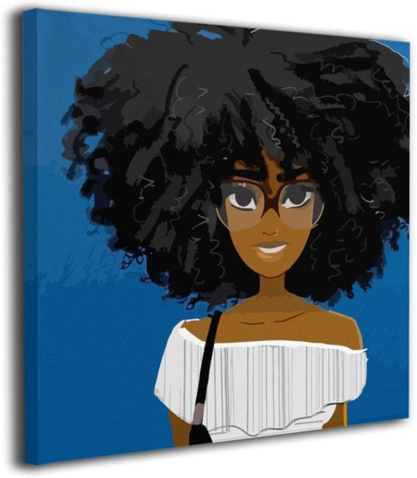 Ale Art Cute African Afro Hair