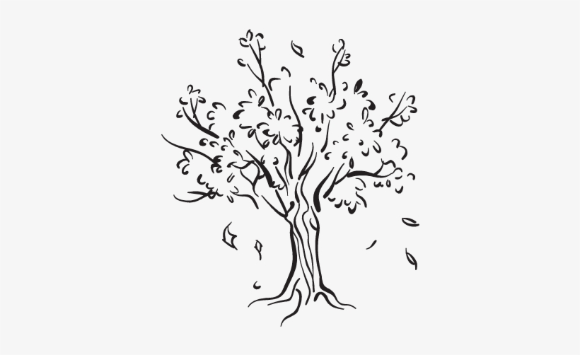 Learn 10 Simple Steps To Draw A Tree Drawing Within 15 ...